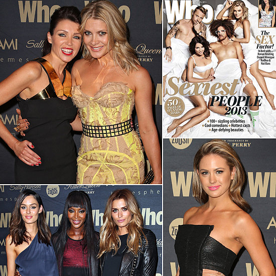 Celebs Turn Up the Heat At Who's Sexiest People Party