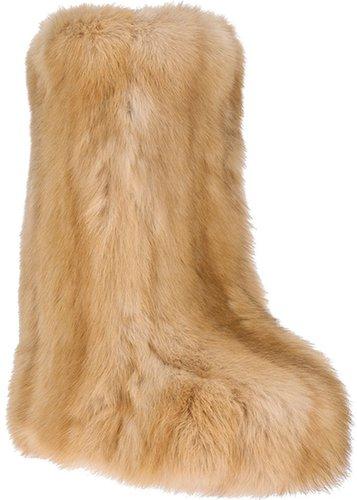 Liska sable fur boot