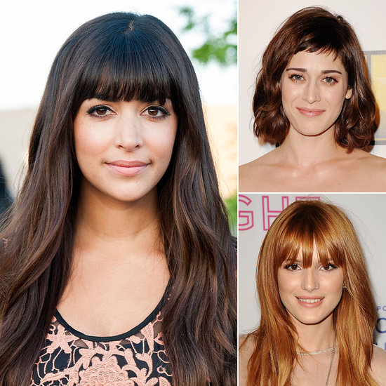 Celebrity Fringe Hairstyles For Spring 2014
