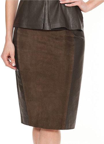 RAOUL Paneled Slim Skirt