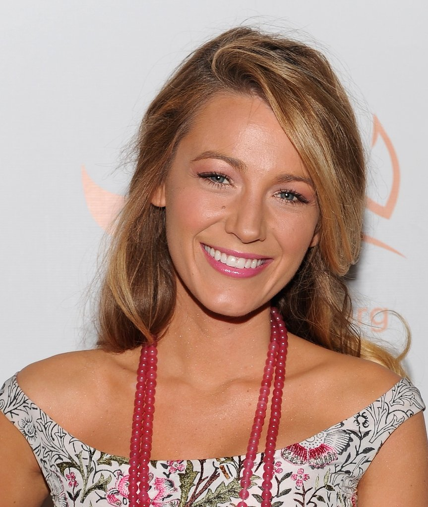 If you're going for a girlie look, why not try a pink makeup palette like Blake Lively's?