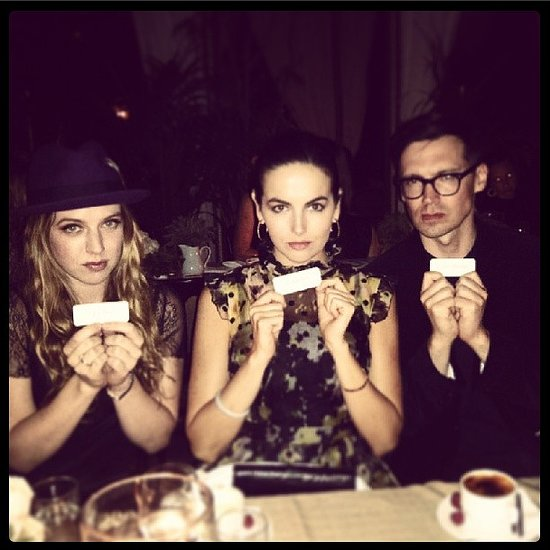 Camilla Belle invited us to join her at Erdem's LA dinner. Source: Instagram user camillabelle