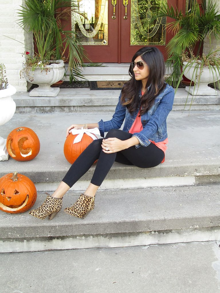 Congrats, duodujour! Those leopard-print booties will make any outfit pop.