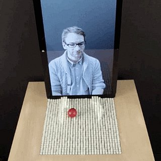 Invention That Lets You Reach Through a Screen