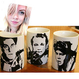 "@winona_rose Hand Painted Ghostbusters cup set ($28) ""I'm really hoping to get this hand-painted set of Ghostbusters mugs, because they're weird and cute and will help ensure none of my coffee is haunted."""