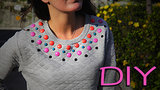 DIY: Jeweled Sweatshirt!