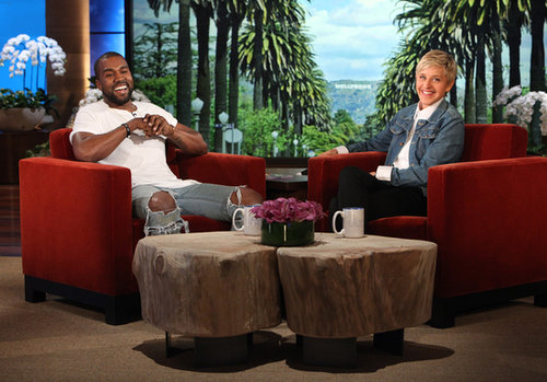 Kanye West Talking About North on Ellen Degeneres