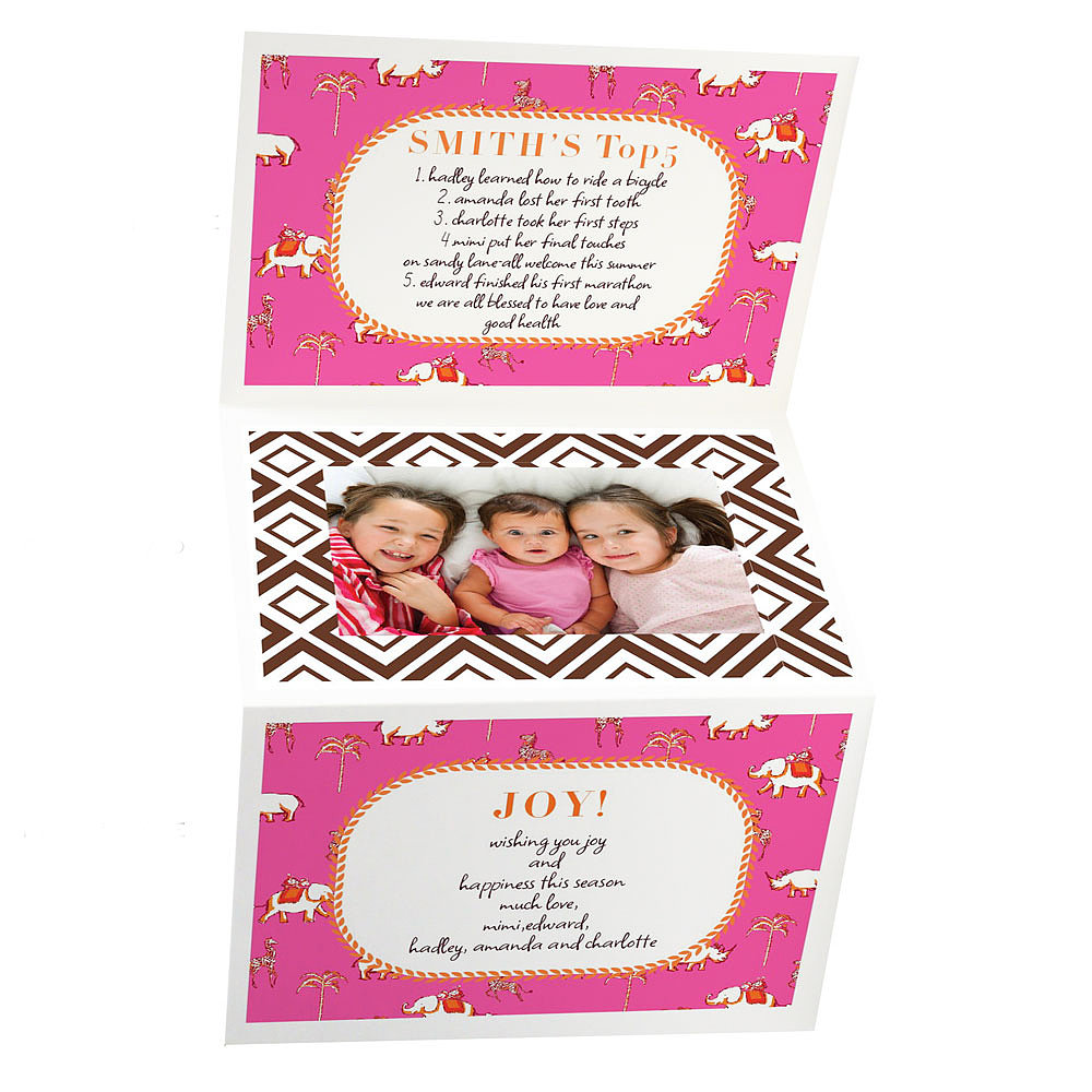 Iomoi's Five O'Clock Somewhere Trifold Card