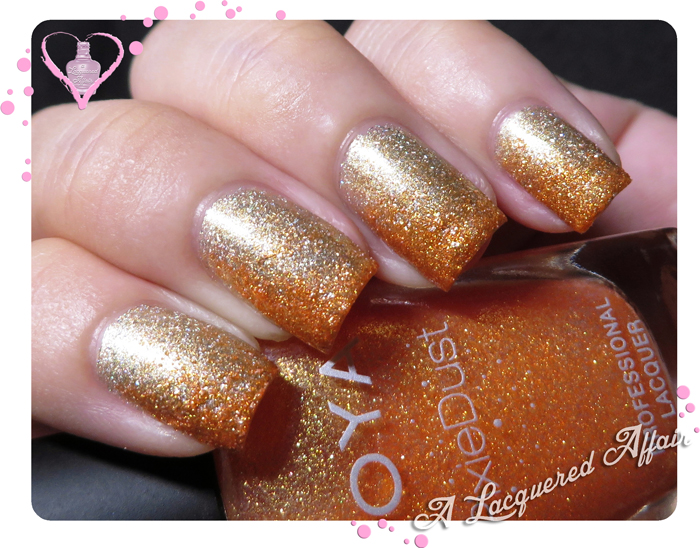 Zoya Beatrix over Estessimo TiNS 403 Rich Topaz
