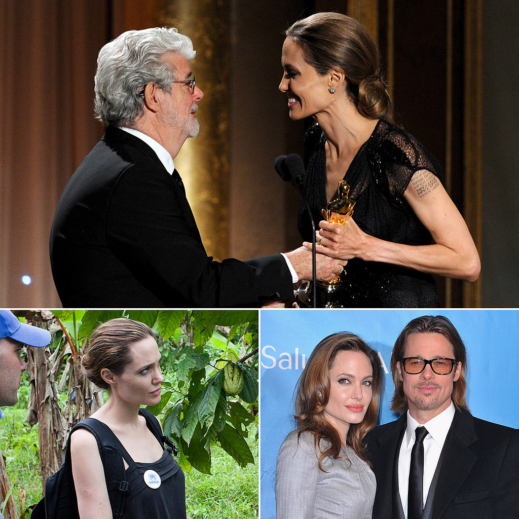 Even More Inspiring Angelina Jolie Moments