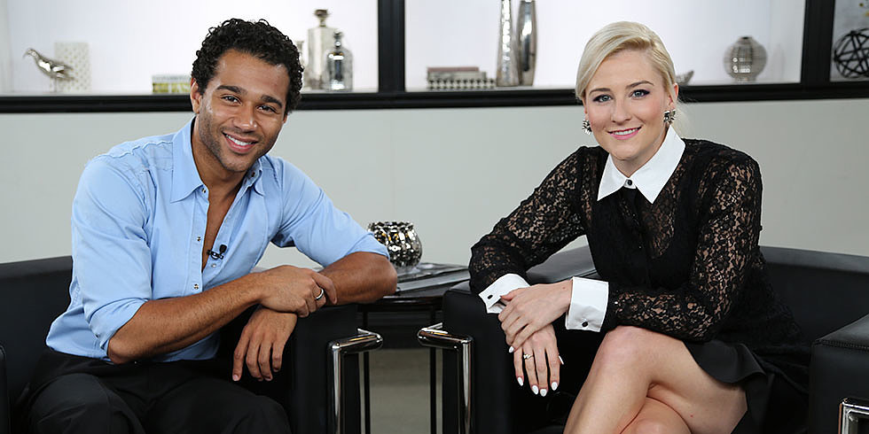 "Corbin Bleu: DWTS Is Like ""Having a Second Girlfriend"""
