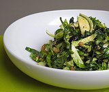 Salads: Shredded Brussels Sprout Salads