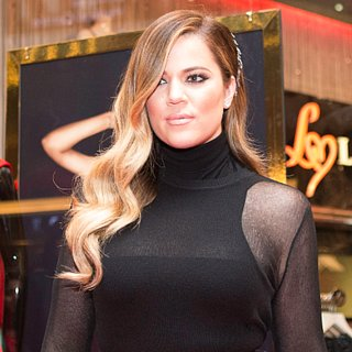 Khloe Kardashian's Blonde Hair 2013