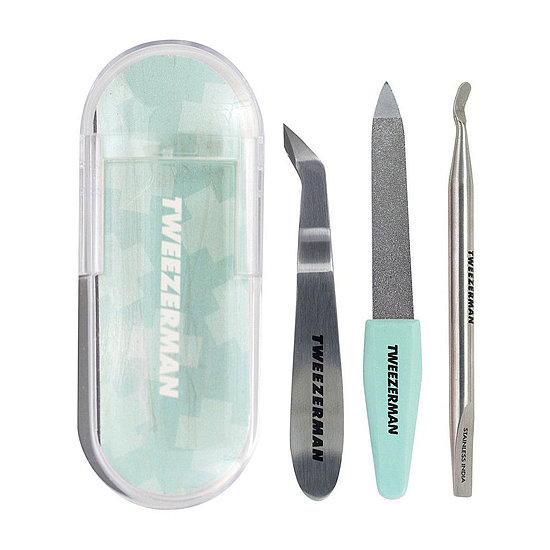Tweezerman makes everyday tools like nail files and tweezers into something worth celebrating, and its Mini Nail Rescue Kit ($20) is the perfect combination of functionality and festive appeal.