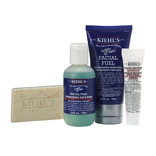If you drew a guy and have no idea what kind of stuff he'll enjoy, then check out the Kiehl's Essentials For Him ($31). It has all the basics, so he'll feel refreshed and spiffy every morning.