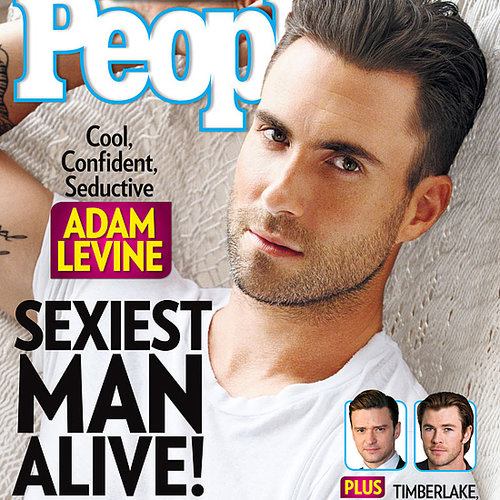 Adam Levine Is People Sexiest Man Alive 2013