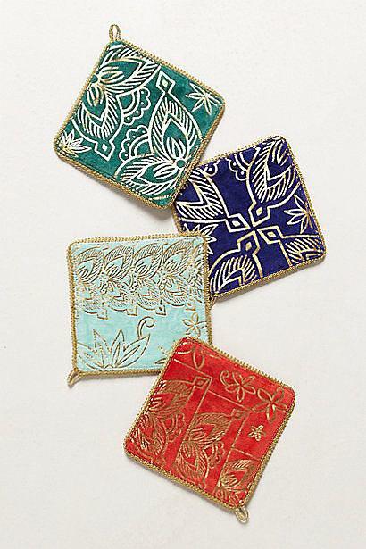 Velveteen Coasters