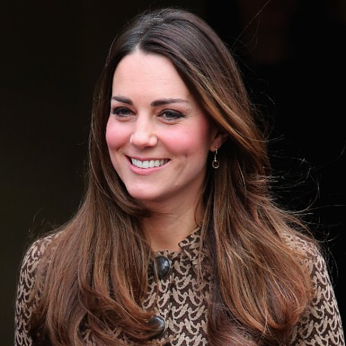 Kate Middleton's Hair at the Only Connect Project Yesterday