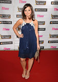 At the 2009 TV Now Awards, Jenna wore blue (obviously one of her favourite colours for clothes), this time with a lace trim and frills.