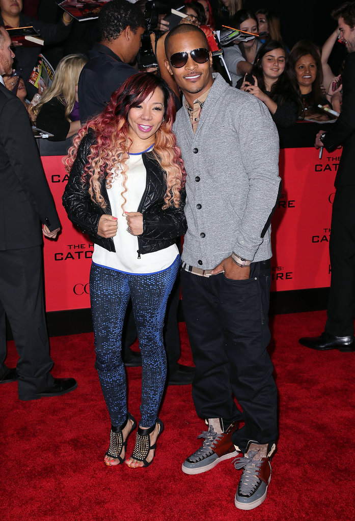 T.I. and Tiny were all smiles on the red carpet.