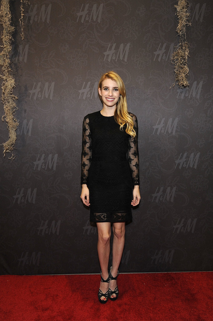 Emma Roberts at the H&M New Orleans opening party.