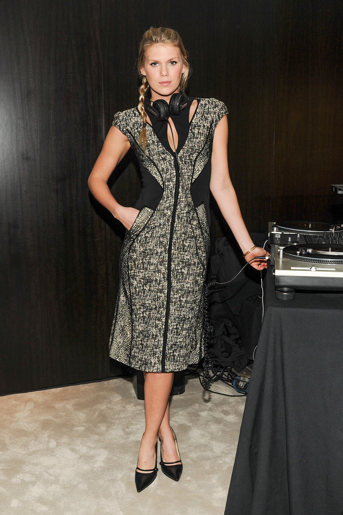 Alexandra Richards at the opening of the Madison Avenue J. Mendel boutique.