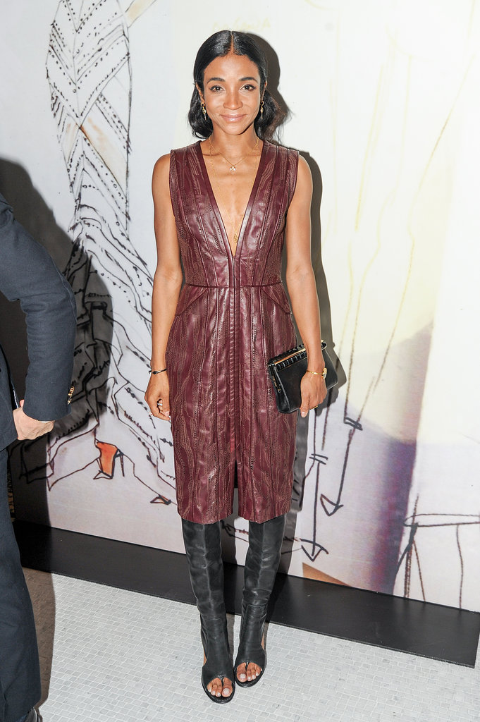 Genevieve Jones at the opening of the Madison Avenue J. Mendel boutique.