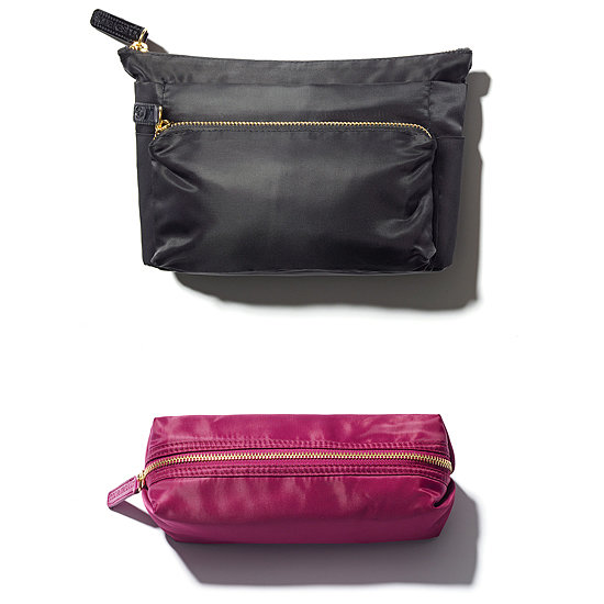 """This is one of my favorite bags I've designed over the years. You can use it for everything from cosmetics to just keeping your everyday items perfectly placed inside your purse. This multipurpose bag ($15) is just another one of the many affordable things I love to gift from the world of Sonia Kashuk Beauty."""
