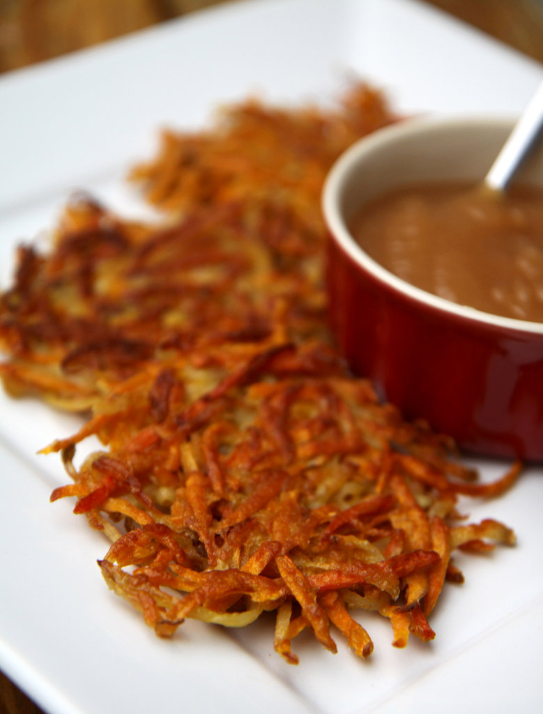 Sweet Potato and Carrot Latkes