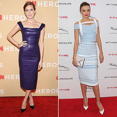 Allison Williams vs. Miranda Kerr: Who Blue Your Mind?