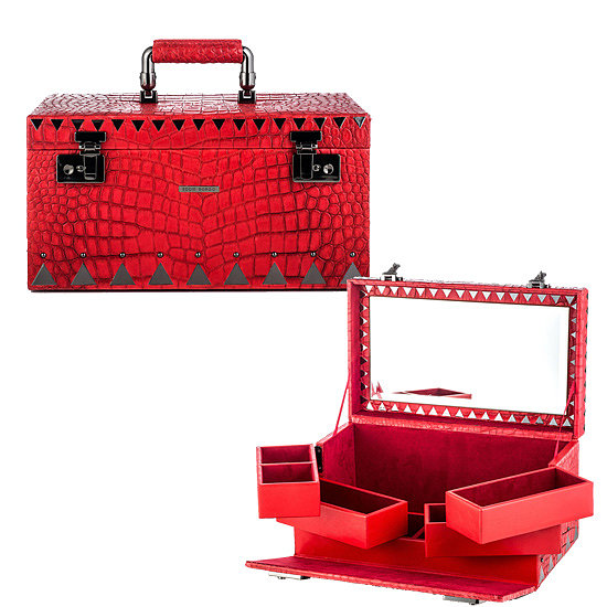The woman who already owns an impressive jewelry collection needs a stylish place to store it. Eddie Borgo went above and beyond with his croc-embossed leather option ($2,000).