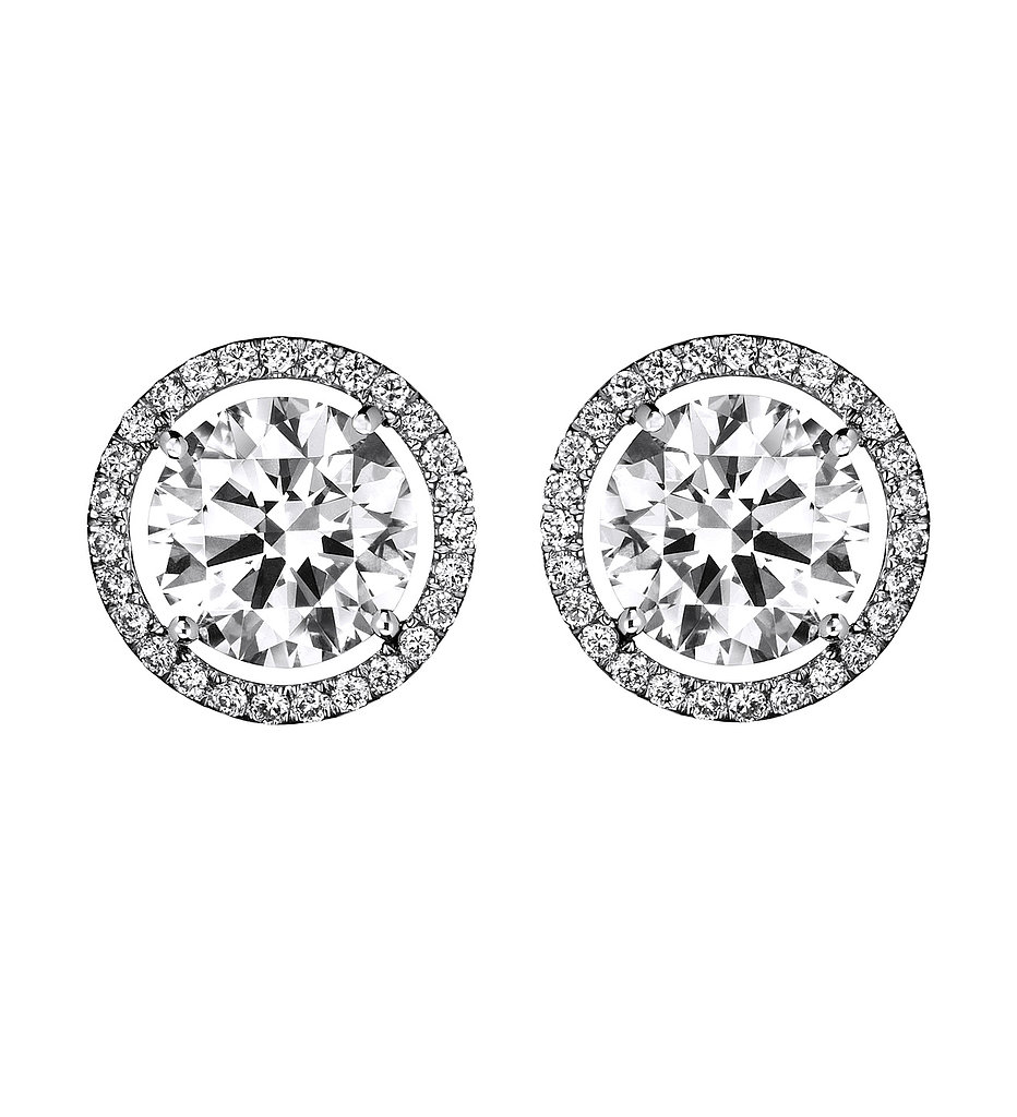 Go heavy on the bling, now through the New Year (and every year after). The Aura studs from De Beers ($3,950) are sure to be enough sparkle for anyone.