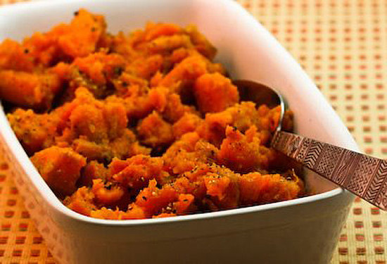 Spicy Crockpot Sweet Potatoes