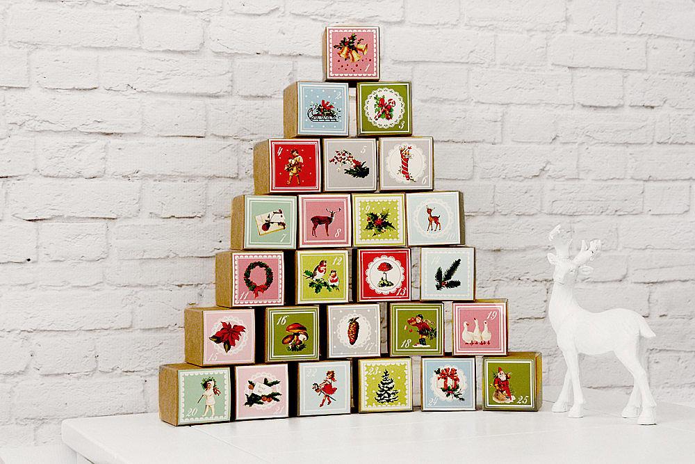 Buy: Milch & Honig's Nostalgic Vintage Style Advent Calendar