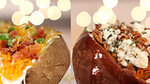 A Sweet Potato and Baked Potato, Fully Loaded