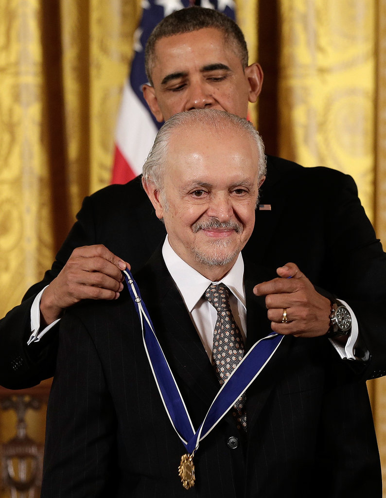 Mario Molina received the Presidential Medal of Honor.