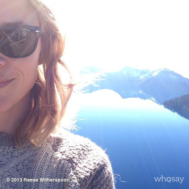 Reese Witherspoon snapped a gorgeous photo of the Oregon landscape while filming Wild. Source: Instagram user reesewitherspoon