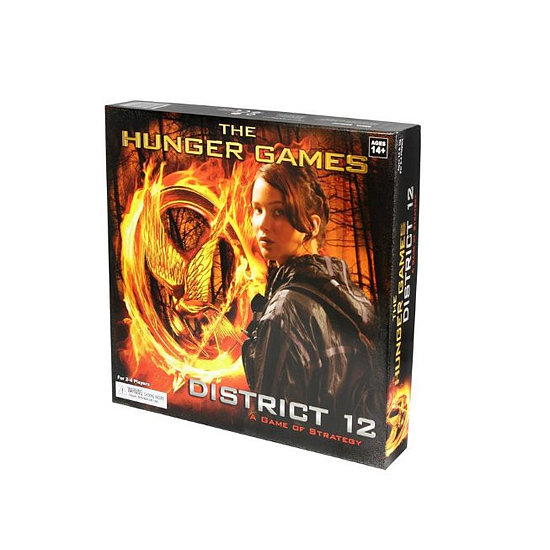 The Hunger Games Movie The District 12 Strategy Game, approx $17