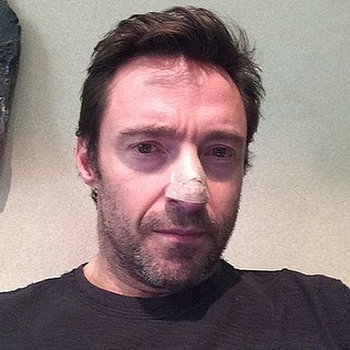 Hugh Jackman Instagram Photo With Skin Cancer on His Nose