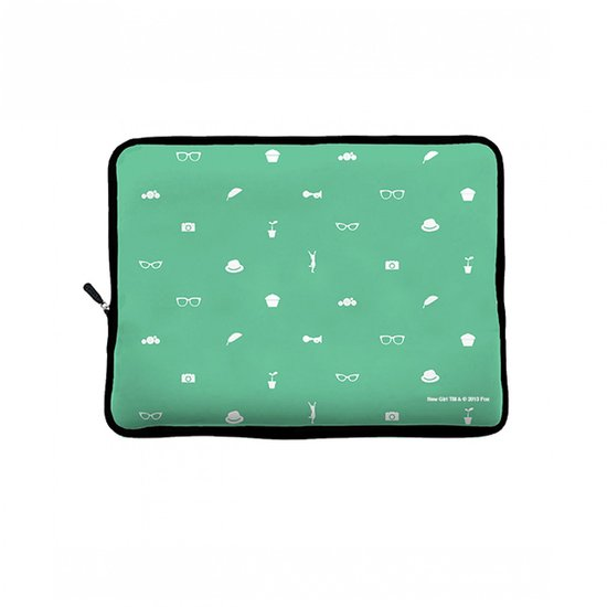 Adorkable All About Turquoise Laptop Cover ($19)