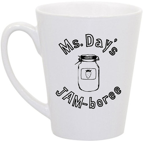 JAM-boree Coffee Mug ($16)