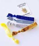 Lucky Girl Hair Ties: The Hanukkah Set