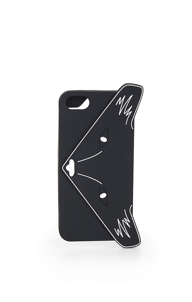"BCBG Max Azria Foxy iPhone 5 Case ($38) ""We even have a clutch to match this foxy fox-print phone case!"""