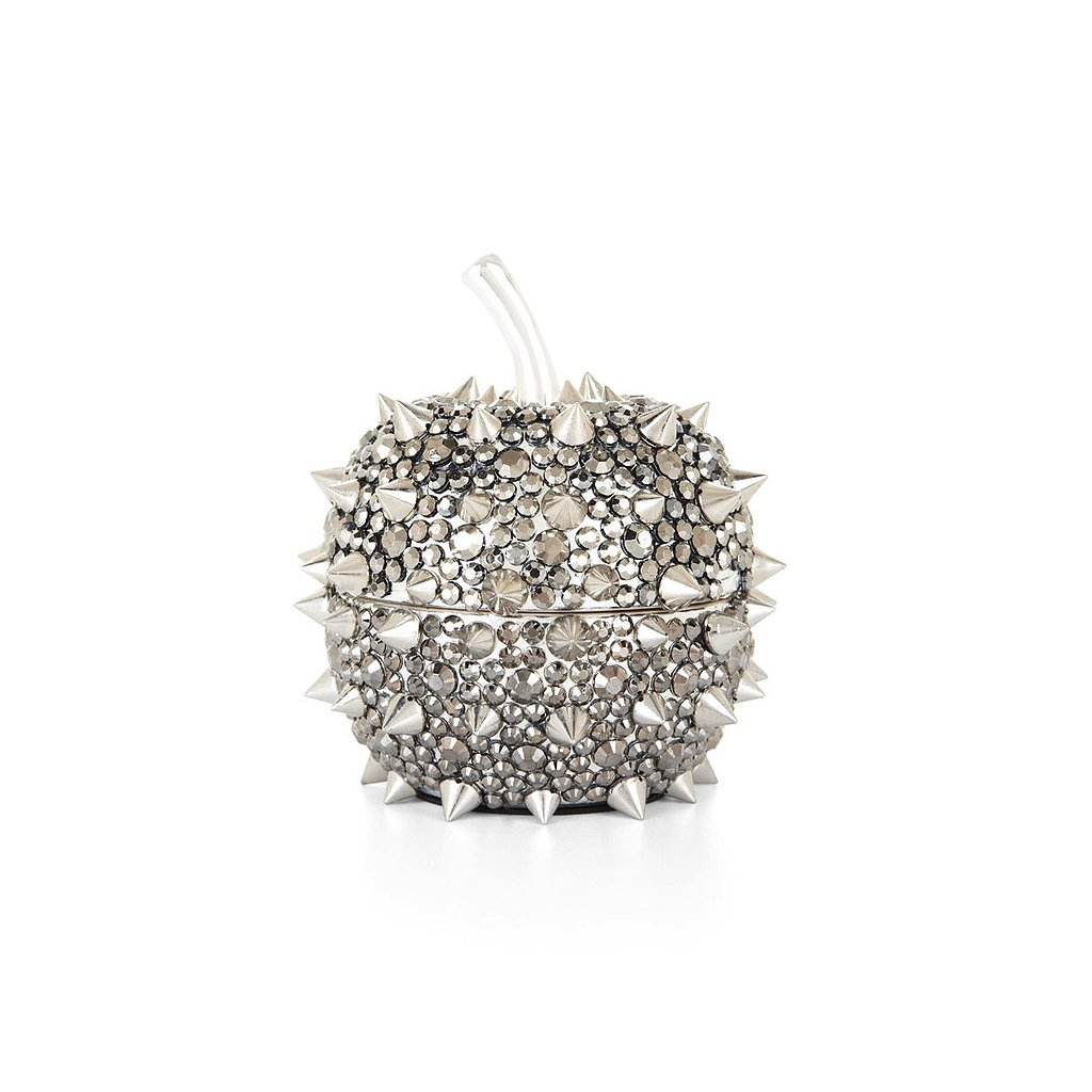 "BCBG Max Azria Spiked Apple Jewelry Box ($78) ""Keep your accessories safe in style."""