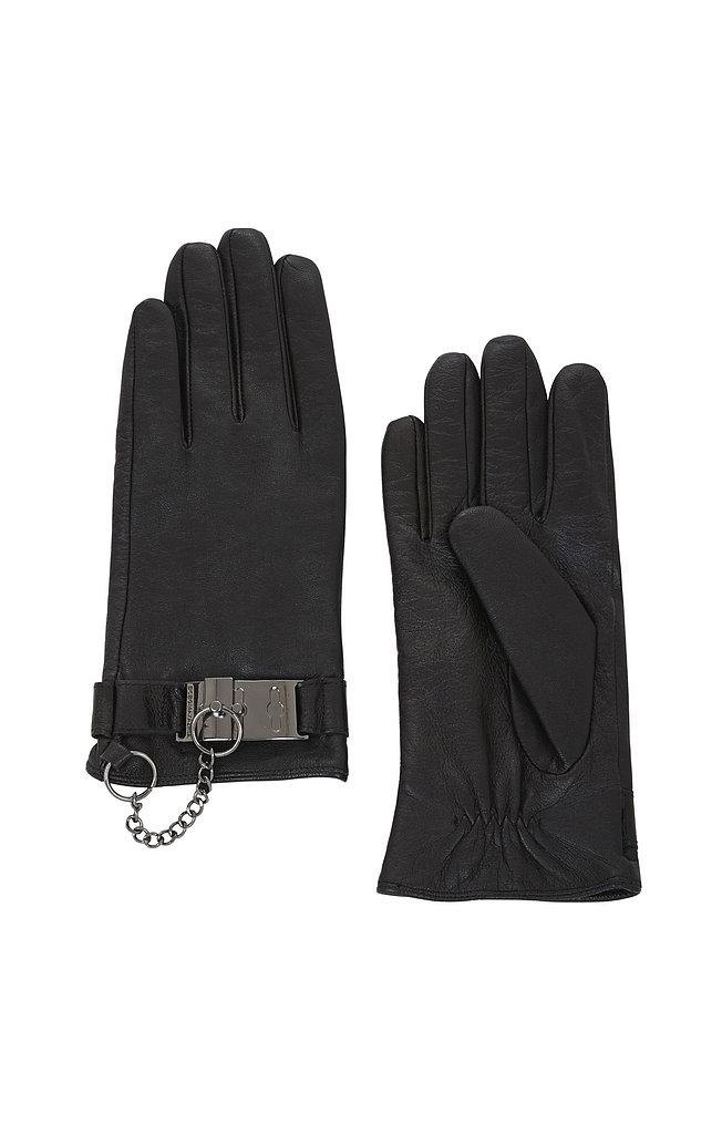 """BCBG Max Azria Toggle Cuff Leather Gloves ($98) """"It only gets colder after the holidays, and these gloves deserve a round of applause!"""""""