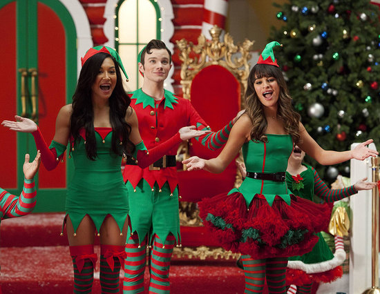 There's Snow Christmas Like a Glee Christmas!
