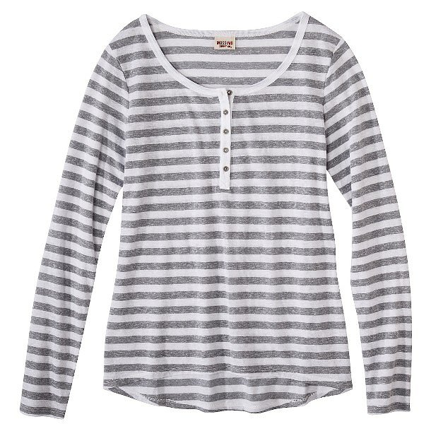Trade your ratty t-shirt for this much cuter Mossimo Supply Co. Long Sleeve Henley ($15).
