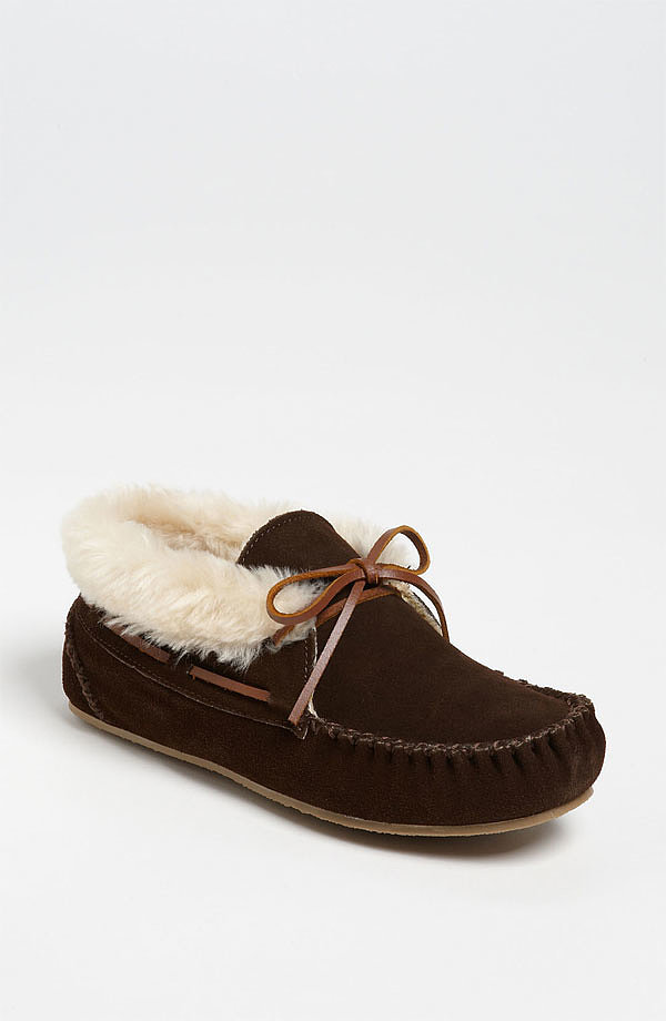 These Minnetonka Chrissy Booties ($46) make the coziest kind of slippers.