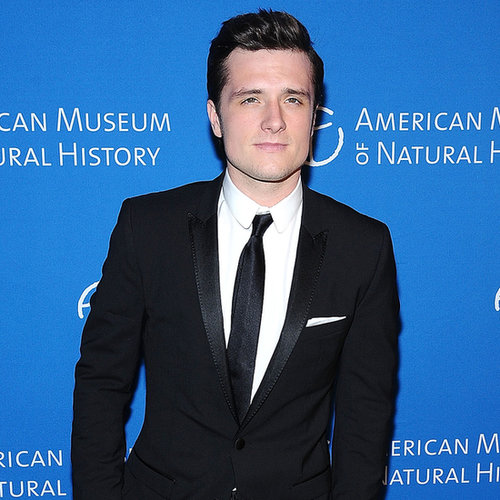 Josh Hutcherson at the Museum of Natural History Gala in NYC