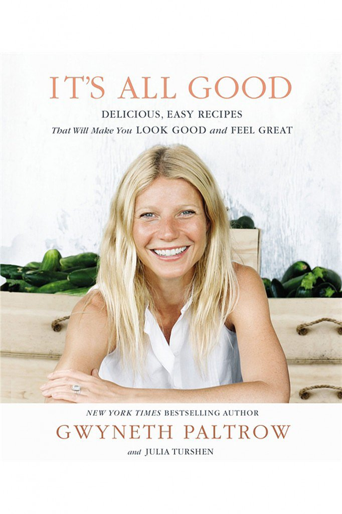 We all want to be a little more like Gwyneth Paltrow, don't we? The multifaceted actress gives us a way to cook like her with her second cookbook, It's All Good: Delicious, Easy Recipes That Will Make You Look Good and Feel Great ($32). This one promises recipes that don't just taste good, but also make you look great.  — Shannon Vestal, TV and movies editor